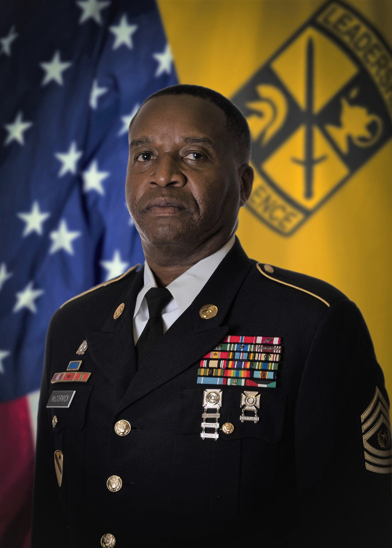 Photo of CSM Vincent McCormick, Army Instructor