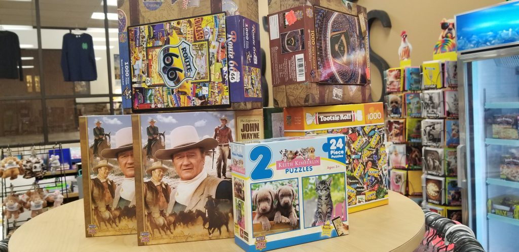christmas shopping puzzles