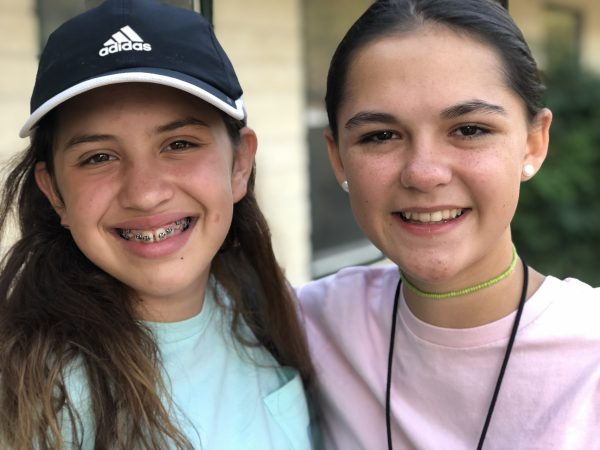 Two students who attended Highland Lakes Journey Camp in 2019