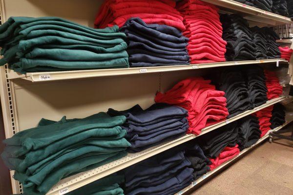 Folded Uniforms