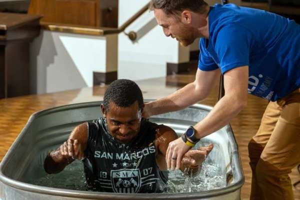 Christian ministry Baptism