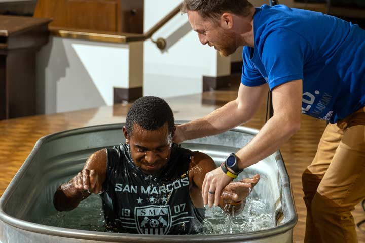 Christian ministry Baptism