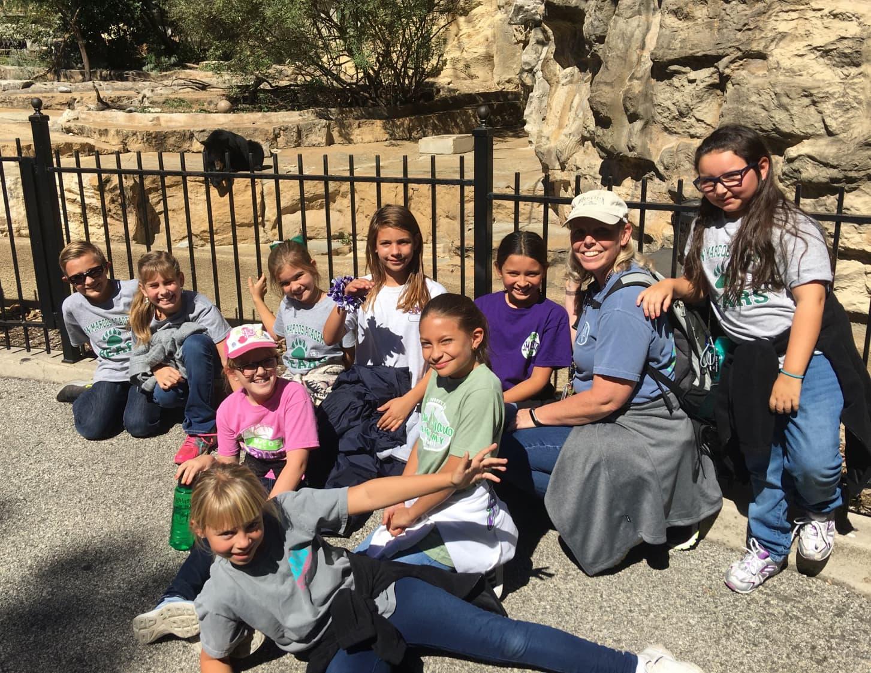 SMA Bears at Zoo