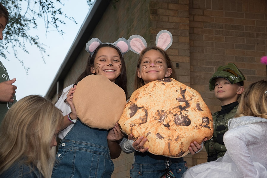 Giant Cookie, Costume Day