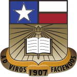 San Marcos Academy's military schools in Texas seal