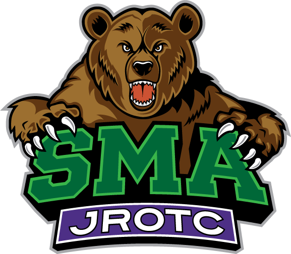 SMA boarding school in Texas JROTC logo